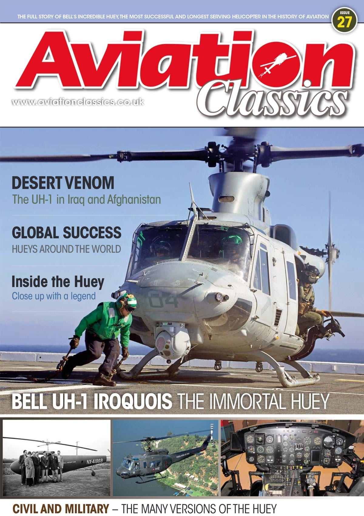 Aviation Classics – Bell UH-1 Iroquois – The Immortal Huey