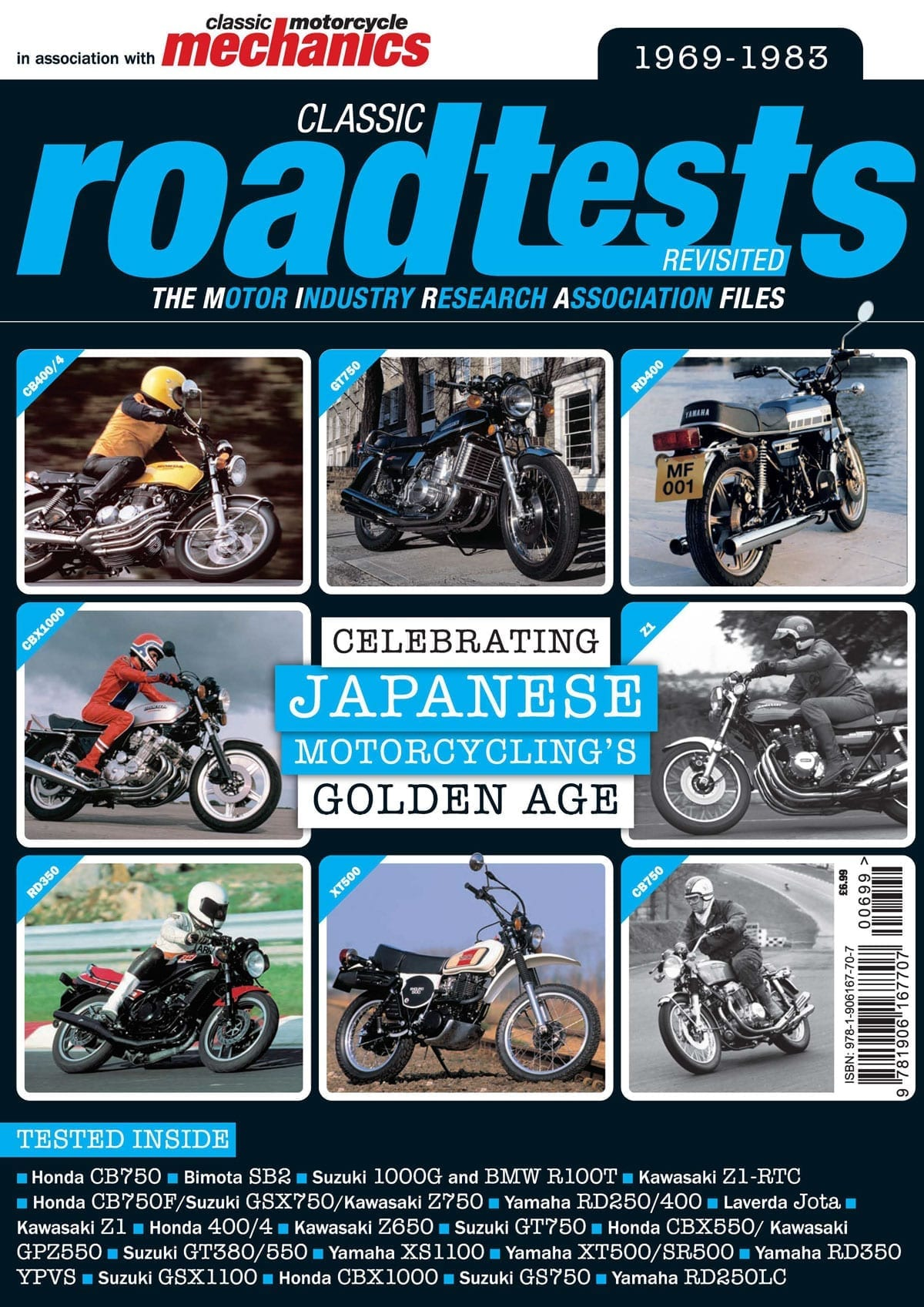 Classic Roadtests Revisited - Celebrating Japanese Motorcycling's Golden Age