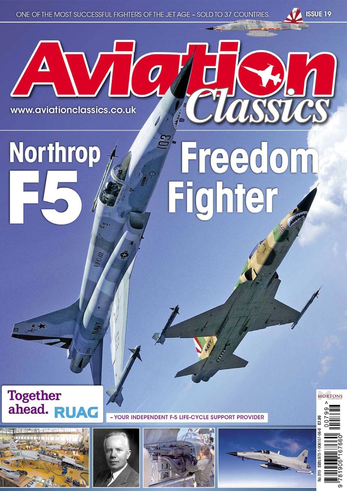 Aviation Classics – Northrop F5 Freedom Fighter