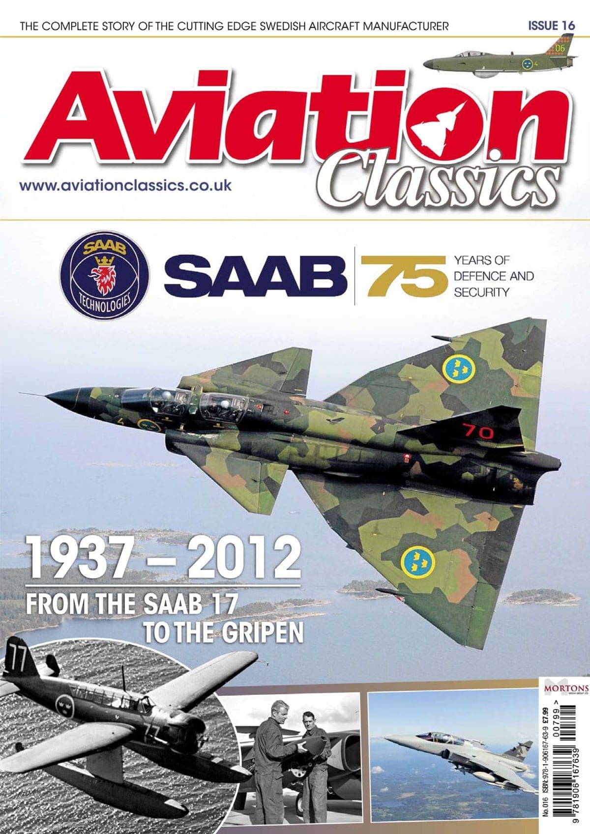 Aviation Classics – SAAB – 75 Years of Defence and Security